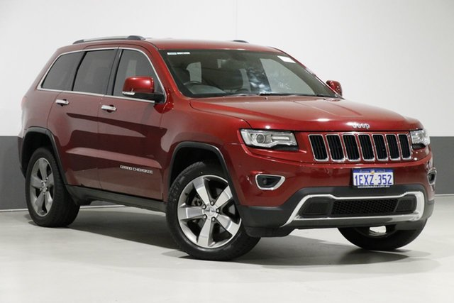 Used Jeep Grand Cherokee WK MY14 Limited (4x4), 2013 Jeep Grand Cherokee WK MY14 Limited (4x4) Red 8 Speed Automatic Wagon