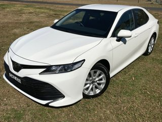 2018 Toyota Camry ASV70R Ascent Glacier White 6 Speed Automatic Sedan.