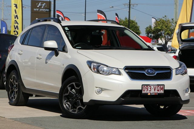 Used Subaru XV G4X MY14 2.0i Lineartronic AWD, 2015 Subaru XV G4X MY14 2.0i Lineartronic AWD White 6 Speed Constant Variable Wagon