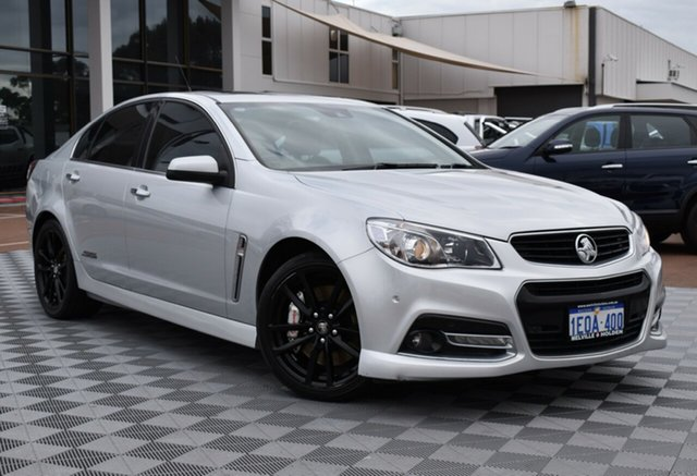 Used Holden Commodore VF MY14 SS V Redline, 2014 Holden Commodore VF MY14 SS V Redline Silver 6 Speed Sports Automatic Sedan