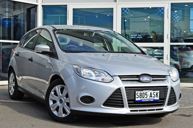 Used Ford Focus LW Ambiente PwrShift, 2012 Ford Focus LW Ambiente PwrShift Moondust Silver 6 Speed Sports Automatic Dual Clutch Hatchback