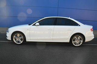 2015 Audi A4 B8 (8K) MY15 1.8 TFSI S-Line LE White CVT Multitronic Sedan