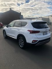 2019 Hyundai Santa Fe TM.2 MY20 Elite White Cream 8 Speed Sports Automatic Wagon