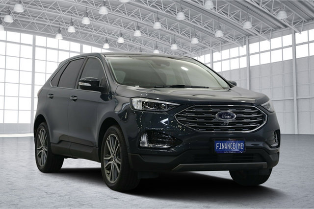 Used Ford Endura CA 2019MY Titanium SelectShift FWD, 2018 Ford Endura CA 2019MY Titanium SelectShift FWD Baltic Sea Green 8 Speed Sports Automatic Wagon
