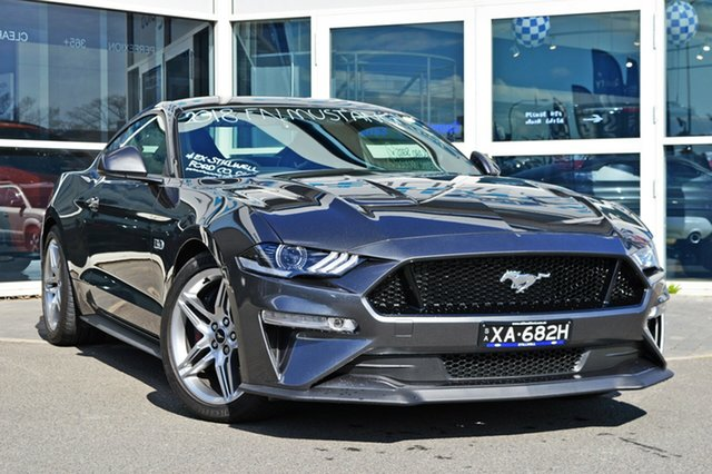 Used Ford Mustang FN 2018MY GT Fastback SelectShift, 2018 Ford Mustang FN 2018MY GT Fastback SelectShift Magnetic 10 Speed Sports Automatic Fastback