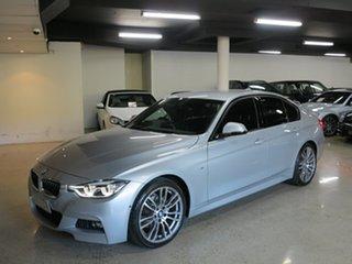 2015 BMW 3 Series F30 LCI 318i M Sport Silver 8 Speed Sports Automatic Sedan.