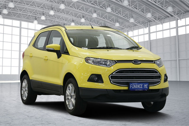 Used Ford Ecosport BK Trend, 2014 Ford Ecosport BK Trend Yellow 5 Speed Manual Wagon