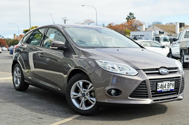 Used Ford Focus LW MkII Trend PwrShift, 2013 Ford Focus LW MkII Trend PwrShift Grey 6 Speed Sports Automatic Dual Clutch Hatchback