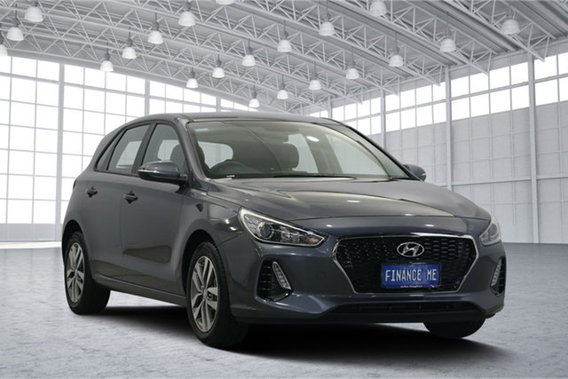 Used Hyundai i30 PD2 MY18 Active, 2018 Hyundai i30 PD2 MY18 Active Iron Gray 6 Speed Sports Automatic Hatchback