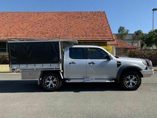 2010 Ford Ranger PK XL Silver 5 Speed Manual Dual Cab.