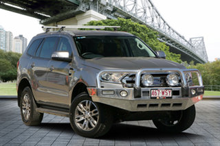2016 Ford Everest UA Trend 4WD Silver 6 Speed Sports Automatic Wagon.