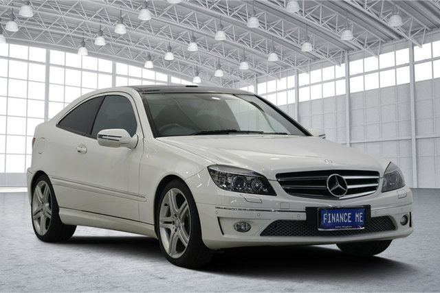 Used Mercedes-Benz CLC-Class CL203 , 2010 Mercedes-Benz CLC-Class CL203 White 5 Speed Automatic Coupe