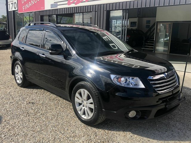 Used Subaru Tribeca MY09 , 2009 Subaru Tribeca MY09 R Premium Pack B9 Black 5 Speed Automatic Wagon