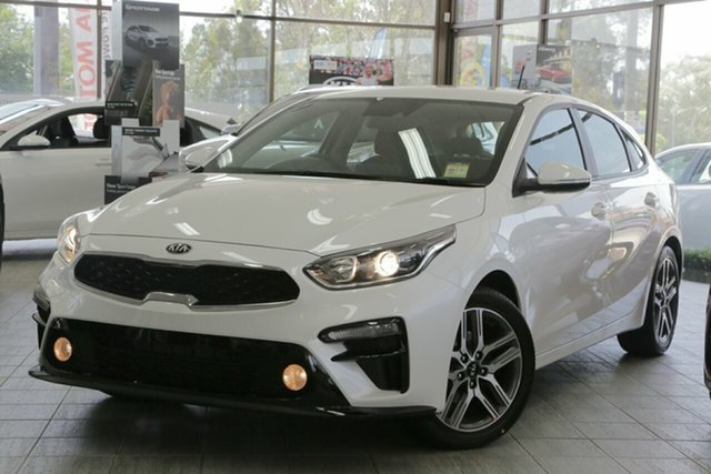 New Kia Cerato BD MY19 Sport, 2019 Kia Cerato BD MY19 Sport Snow White Pearl 6 Speed Sports Automatic Hatchback