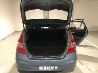 2009 Hyundai i30 FD MY09 SLX Blue 5 Speed Manual Hatchback