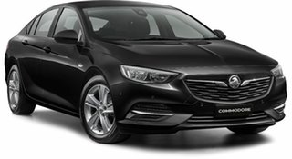 2018 Holden Commodore ZB MY18 LT Liftback Mineral Black 9 Speed Sports Automatic Liftback