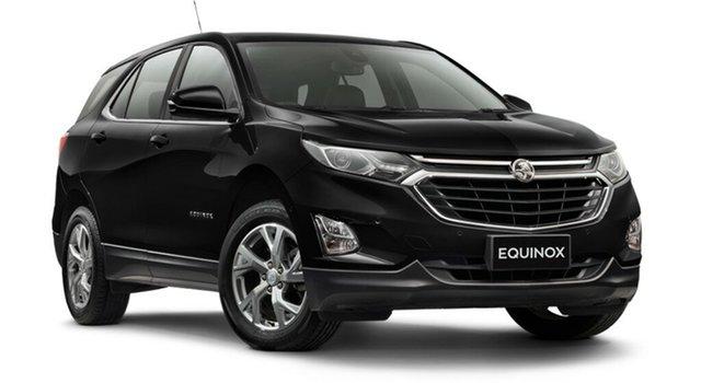 Demo Holden Equinox EQ MY18 LT FWD, 2018 Holden Equinox EQ MY18 LT FWD Mineral Black 9 Speed Sports Automatic Wagon