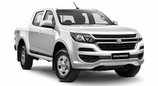 2019 Holden Colorado RG MY19 LS Pickup Crew Cab Summit White 6 Speed Manual Utility