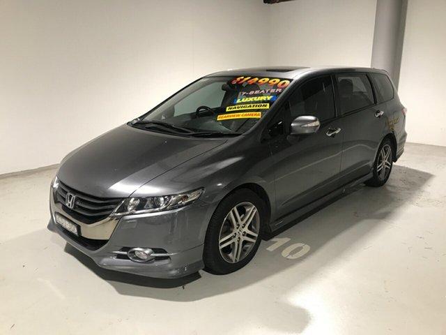 Used Honda Odyssey 4th Gen MY10 Luxury, 2011 Honda Odyssey 4th Gen MY10 Luxury Grey 5 Speed Sports Automatic Wagon