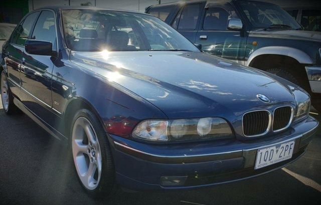 Used BMW 523i E39 Steptronic, 2000 BMW 523i E39 Steptronic Blue 5 Speed Sports Automatic Sedan