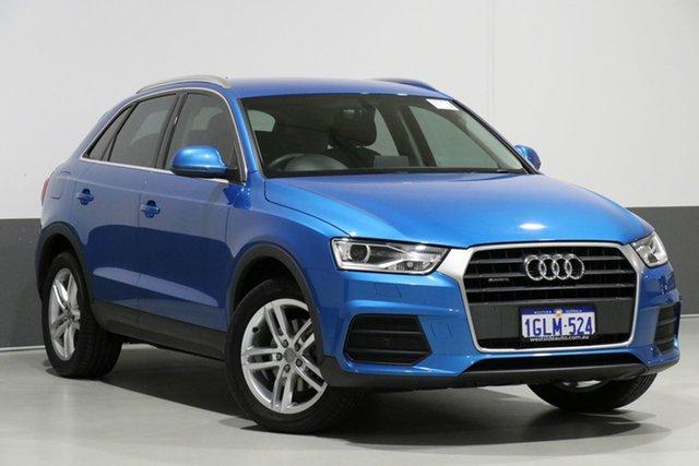 Used Audi Q3 8U MY18 2.0 TDI Quattro (110kW), 2018 Audi Q3 8U MY18 2.0 TDI Quattro (110kW) Blue 7 Speed Auto Dual Clutch Wagon