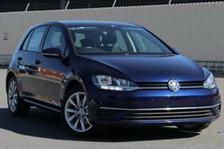 2017 Volkswagen Golf 7.5 MY17 110TSI DSG Comfortline Blue 7 Speed Sports Automatic Dual Clutch.