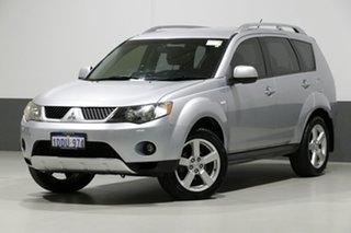 2009 Mitsubishi Outlander ZG MY09 VR-X Silver 6 Speed Auto Sports Mode Wagon.