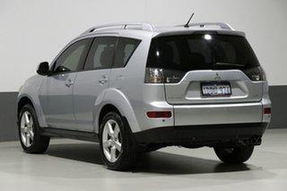 2009 Mitsubishi Outlander ZG MY09 VR-X Silver 6 Speed Auto Sports Mode Wagon