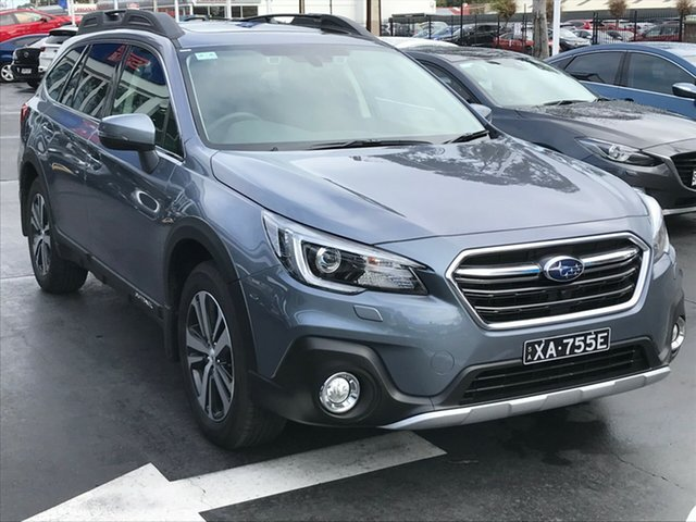 Demo Subaru Outback B6A MY18 2.5i CVT AWD Premium, 2018 Subaru Outback B6A MY18 2.5i CVT AWD Premium Platinum Grey 7 Speed Constant Variable Wagon