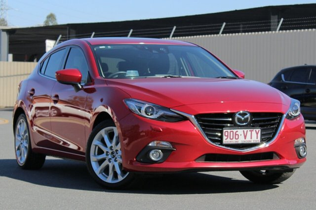 Used Mazda 3 BM5438 SP25 SKYACTIV-Drive Astina, 2015 Mazda 3 BM5438 SP25 SKYACTIV-Drive Astina Soul Red 6 Speed Sports Automatic Hatchback