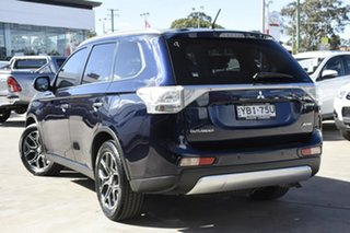 2014 Mitsubishi Outlander ZJ MY14.5 Aspire (4x4) Blue Continuous Variable Wagon.