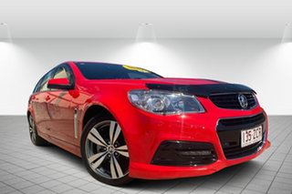 2013 Holden Commodore VF MY14 SV6 Sportwagon Red 6 Speed Sports Automatic Wagon.