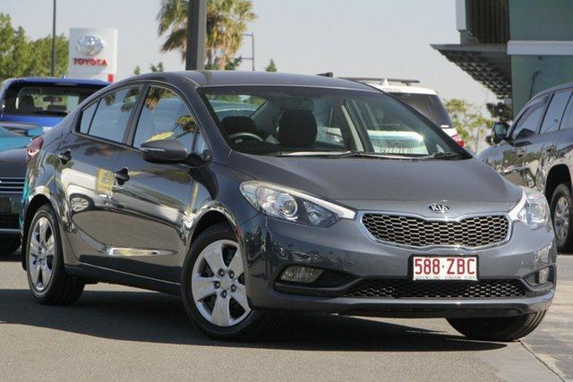 Used Kia Cerato YD MY14 S, 2014 Kia Cerato YD MY14 S Grey 6 Speed Sports Automatic Sedan