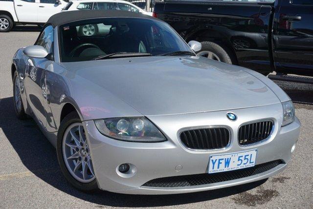 Used BMW Z4 E85 MY05 Steptronic, 2005 BMW Z4 E85 MY05 Steptronic Silver 5 Speed Sports Automatic Roadster