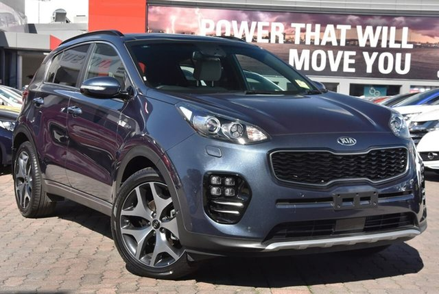 Used Kia Sportage QL MY18 GT-Line AWD, 2018 Kia Sportage QL MY18 GT-Line AWD Blue 6 Speed Sports Automatic Wagon