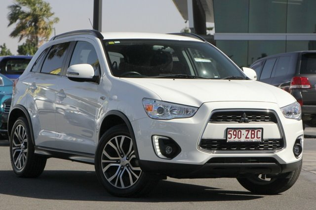 Used Mitsubishi ASX XB MY15 LS, 2015 Mitsubishi ASX XB MY15 LS White 6 Speed Sports Automatic Wagon