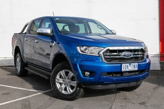 2019 Ford Ranger PX MkIII 2019.00MY XLT Pick-up Double Cab 4x2 Hi-Rider Blue 10 Speed.