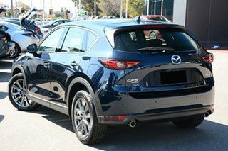 2020 Mazda CX-5 KF4WLA Akera SKYACTIV-Drive i-ACTIV AWD Deep Crystal Blue 6 Speed Sports Automatic.