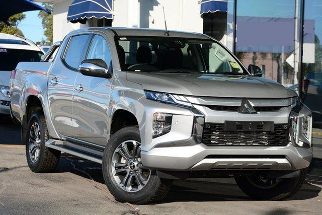 New Mitsubishi Triton MR MY19 GLS Double Cab, 2018 Mitsubishi Triton MR MY19 GLS Double Cab Sterling Silver 6 Speed Sports Automatic Utility