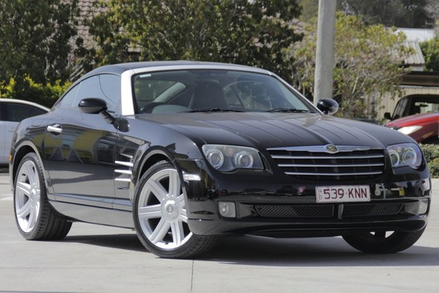 Used Chrysler Crossfire ZH MY2004 , 2004 Chrysler Crossfire ZH MY2004 Black 6 Speed Manual Coupe