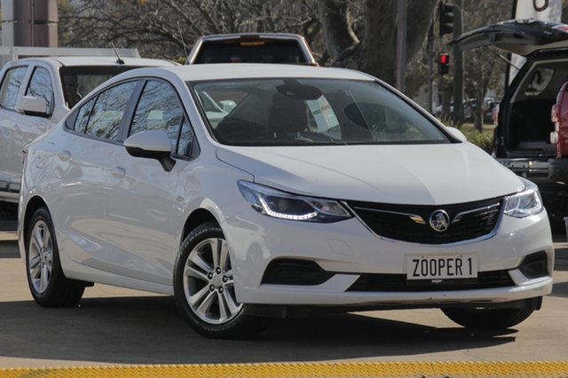 Used Holden Astra BL MY17 LS+, 2017 Holden Astra BL MY17 LS+ White 6 Speed Sports Automatic Sedan
