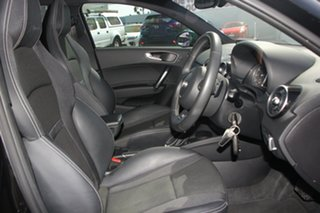 2012 Audi A1 8X MY13 Sport Sportback S Tronic Black 7 Speed Sports Automatic Dual Clutch Hatchback