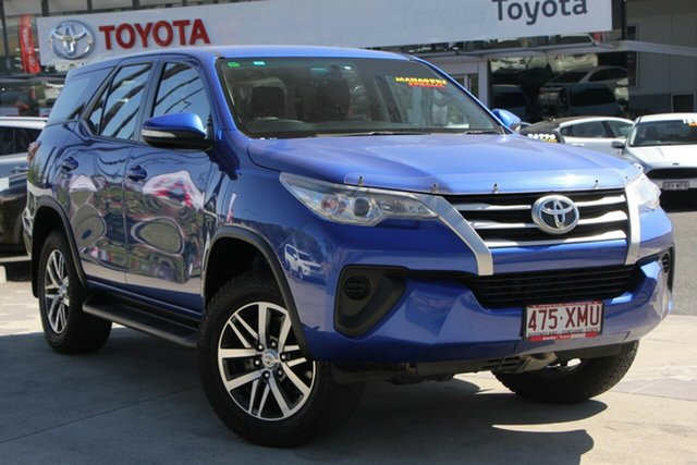Used Toyota Fortuner GUN156R GX, 2017 Toyota Fortuner GUN156R GX Nebula Blue 6 Speed Automatic Wagon