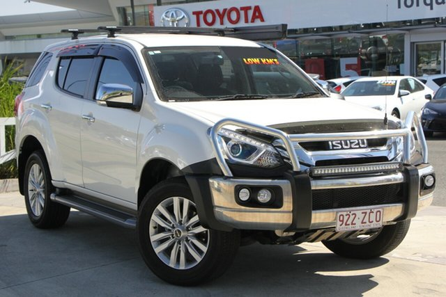 Used Isuzu MU-X MY18 LS-U Rev-Tronic, 2018 Isuzu MU-X MY18 LS-U Rev-Tronic White 6 Speed Sports Automatic Wagon