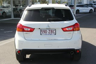 2015 Mitsubishi ASX XB MY15 LS White 6 Speed Sports Automatic Wagon