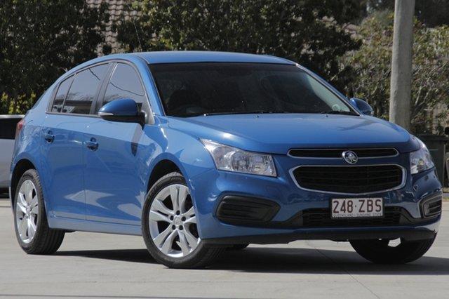 Used Holden Cruze JH Series II MY15 Equipe, 2015 Holden Cruze JH Series II MY15 Equipe Blue 5 Speed Manual Hatchback