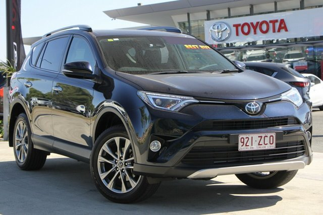 Used Toyota RAV4 ASA44R Cruiser AWD, 2017 Toyota RAV4 ASA44R Cruiser AWD Peacock Black 6 Speed Sports Automatic Wagon