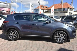 2018 Kia Sportage QL MY18 GT-Line AWD Blue 6 Speed Sports Automatic Wagon.