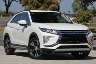 2018 Mitsubishi Eclipse Cross YA MY18 LS 2WD White 8 Speed Constant Variable Wagon.
