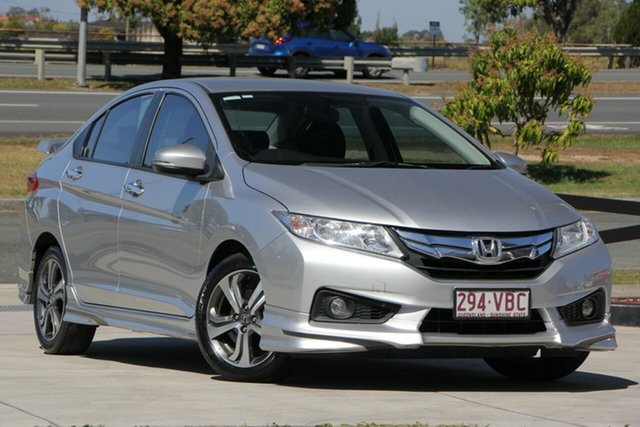 Used Honda City GM MY14 VTi-L, 2014 Honda City GM MY14 VTi-L Silver 7 Speed Constant Variable Sedan